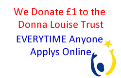 We donate £1 to the Donna Louise Trust